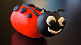 Lady Bug Play-Doh