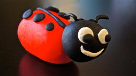Lady Bug Play-Doh