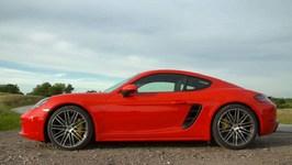 Porsche 718 Cayman S Lava Orange Design