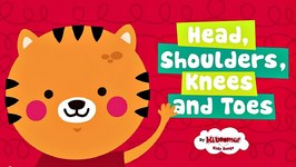 Head Shoulders Knees and Toes  Nursery Rhymes with Lyrics and Actions