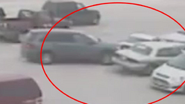 Parking Disaster: 92-year-old Crashes into 10 Cars