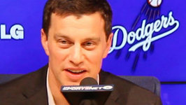 Dodgers President Of Baseball Operations Andrew Friedman Press Conference - Part 1