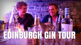 Visiting Edinburgh Gin Distillery Tour in Scotland