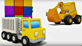 Cartoon And Kids Games  Excavator Max And Surprise Egg  Hot Cold game   Animation For Kids