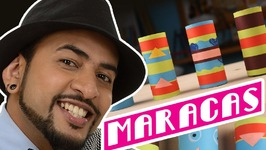 Mad Stuff With Rob  feat. Neil Bhoopalam- How To Make Maracas- DIY Craft For Children