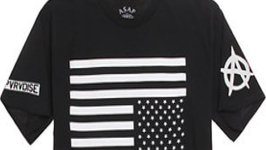 PacSun American Flag T-Shirt Too Offensive