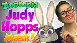Zootopia - Judy Hopps Mask DIY Craft - Arts and Crafts with Crafty Carol at Cool School
