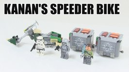 LEGO Star Wars Kanan's Speeder Bike Review- LEGO 75141