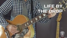 Life By The Drop by Stevie Ray Vaughan - Guitar Lesson