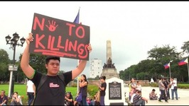 Thousands gather at Rizal Park for End Tyranny rally