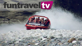 Queenstown, New Zealand - Jetboating In The Shotover River