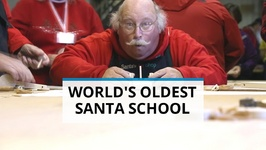 World's Oldest Santa School Will Make You Believe