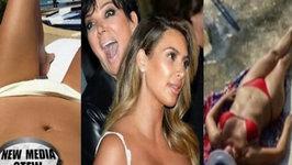 Kim Kardashian Bikini Battles Mama Kris Jenner in Sexy Instagram Competition