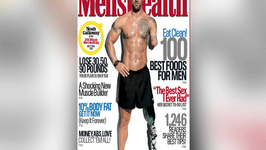 Double Amputee Vet is First Ultimate Men's Health Guy