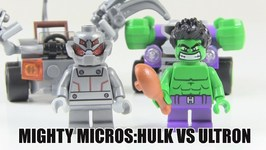 LEGO Marvel Superheroes Mighty Micros - Hulk Vs Ultron Review - LEGO 76066