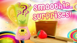 Magical Blender Pretend Play And Fruit Slicing With Surprise Toys