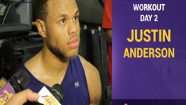 Lakers Pre-Draft Workouts - Justin Anderson