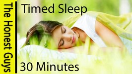 Sleep For 30 Minutes - Guided Sleep Talk-Down with Blissfully Relaxing Rain - Timed