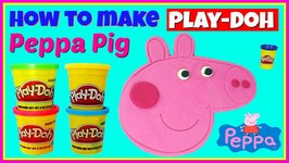 Peppa Pig Play Doh Character How To Make Playdough Peppa Pig