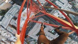 Hollywood Crane Climb Down (UNCUT)