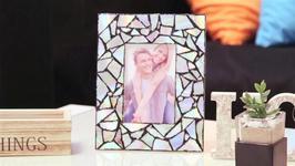 DIY CD Picture Frame