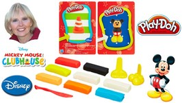 Play-Doh Disney Makeables Set Featuring Mickey Mouse and Donald Duck