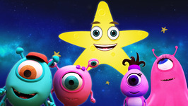 The Shape Star - Monster Family Colors and Shapes