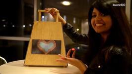 LED Handbag Lets You Wear Your Favorite Emoji