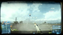 BF3 and GANDALF - EPIC moment - tank vs air superiority