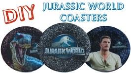 Jurassic World Coasters DIY Another Coaster Friday Craft Klatch