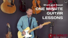 One Minute Guitar Lessons - Quick Lessons with Erich Andreas