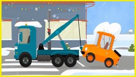 Car Doctor   Kid's Cartoons - Truck Repairs  And Road Safety Lesson With Doc McWheelie