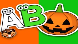 Halloween ABCs - Alphabet Learning Song - Kindergarten Teacher - Easy English Song for Kids