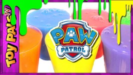 Paw Patrol Toys Slime Surprise Video With Paw Patrol Marshall Chase Zuma Skye