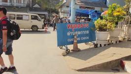 Visa Run To Burma, Lovers Lake, Scary Bridge And Sunflower Fields - Living In Thailand (ADITL BTL Episode 13)