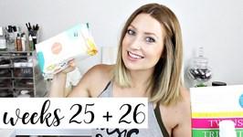 Twin Pregnancy Vlog Weeks 25 and 26 - Doctors Visits, Sleep, Baby Gear