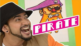 Mad Stuff With Rob  How To Draw A Pirate- DIY Drawing For Children