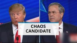 Final GOP Debates-Trump Is The Chaos Candidate