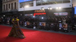 The stars heat up the red carpet at the London Film Festival