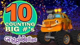 Monster Trucks Learn To Count to Ten