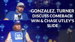 Adrian Gonzalez, Justin Turner On Their Comeback Win In Game 2 Of The NLDS, And Chase Utleys Slide