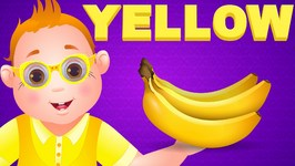 Color Songs - The YELLOW Song  Learn Colours  Preschool Colors Nursery Rhymes  ChuChu TV