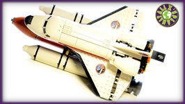 Lego City Space 2015 Space Port With Space Shuttle Stop Motion Review  ALEXSPLANET