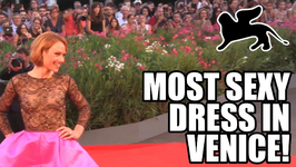 Chiara Mastelli In The Sexiest See Through Dress at the Venice Film Festival