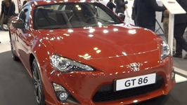 Toyota GT 86 at Madrid Motor Show 2014