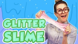 How to make Glitter Slime and Galaxy Slime - Arts and Crafts at Cool School with Crafty Carol