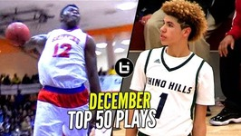 LaMelo Ball And Zion Williamson Show Takes Over Top 50 Plays of December