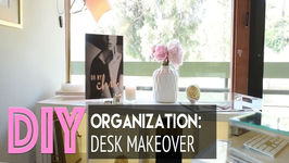 Desk Makeover: DIY Organization  Accessorizing  HomeGoods