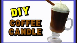 DIY Coffee Candle- Gift Idea
