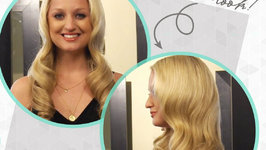 Hair Tutorial: How to Get Formal Waves